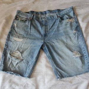 Denim Levi's shorts